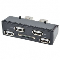 Дополнительные USB выходы / 4-Port USB HUB w/SDCard Reader for PS3 Slim