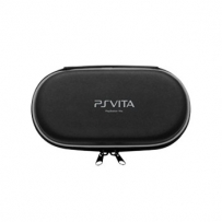 Жесткий Защитный Чехол PS Vita / Protective PU Leather Carrying Pouch w/ Carabiner Clip for PS Vita - Black