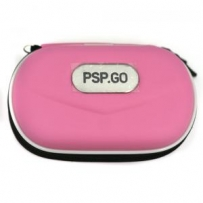 PSP Go Compatible Aero Travel Protector Case with Strap (Pink)