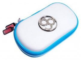 Hard Protective Pouch PSP GO (White) Белый