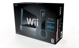 Nintendo Wii Black Sports Resort Pack (модифицированная) + Wii MotionPlus + Wi Sports Resort