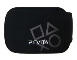 Чехол мягкий цвет черный / Protective Soft Cloth Pouch for PS Vita - Black