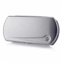 Чехол LUXURY Hard Case Gloss Top Capdase Silver