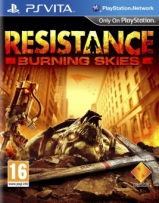 Resistance: Burning Skies (русская версия) - [PS Vita]