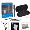 10-in-1 Luxury Kit for PS Vita - Black / 10-в-1 люкс набор для PS Vita - черный