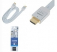 Кабель HDMI Sony Gold Plated 1080p V1,4 (2M) White