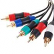 Кабель компонентный для PS3/PS2 - Gold Plated Shielded Video and Audio AV Component Cable for PS3/PS2 (1.6M)