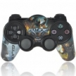 Джойстик беспроводной 2.4GHz Wireless Dual-Shock Game Controller for PS2 - G.I.JOE