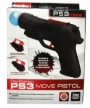 Realistic Pistol Shooting Equipment for PS3 Move Gun Adapter Motion Controller