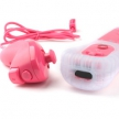 Пульт + нунчак (Wii) / Wii Remote and Nunchuck Bluetooth Wireless Controllers (Pink)