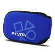 Чехол мягкий цвет синий / Protective Soft Cloth Pouch for PS Vita - Blue