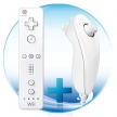 Пульт + нунчак (Wii) / Wii Remote and Nunchuck Bluetooth Wireless Controllers (White)