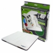 Induction Battery Charger with Dual 1800nAh Battery Packs for Xbox 360 Controllers (White)