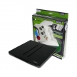 Induction Battery Charger with Dual 1800nAh Battery Packs for Xbox 360 Controllers (Black)