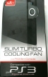 Slim Turbo Cooling Fan PEGA PS3 (Black)