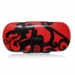 Кожаная сумка Free-Style Case Black-Red Dragon (BH-PSP02208)