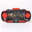 Чехол Силикон+Метал / Silicone Cover Red with Aluminum Case Black Transformers for PSP Slim 2000/3000