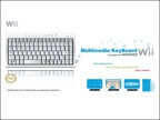 Wii Клавиатура Multimedia Keyboard W-059